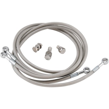Streamline Brakes universal stainless steel brake lines
