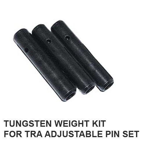 Straightline Performance tra adjustable pin kit weights