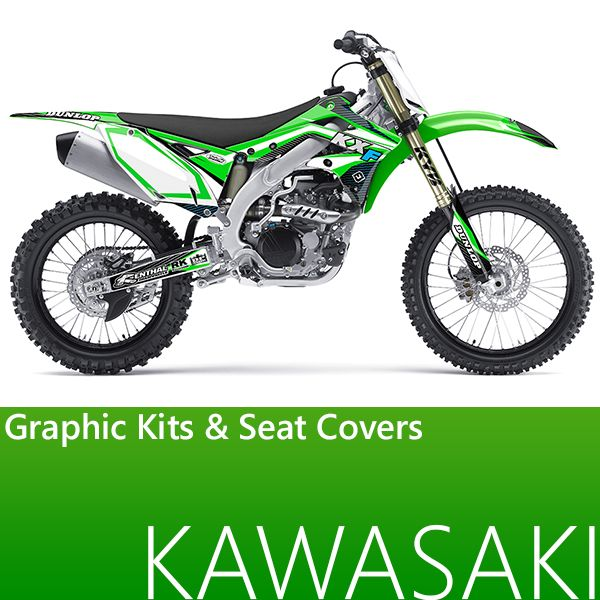 Flu Designs graphic kits - kawasaki