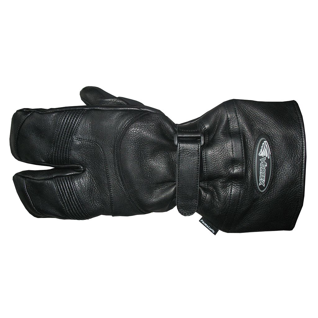 Vortex Clothing pre-curved deerskin claw mitts (v4351)
