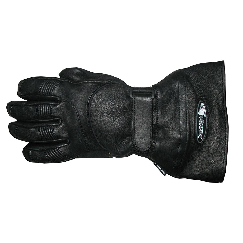 Vortex Clothing pre-curved deerskin gloves (v4355)